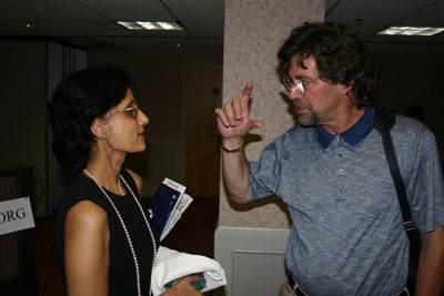 Kusam Malhotra and Ira Kramer