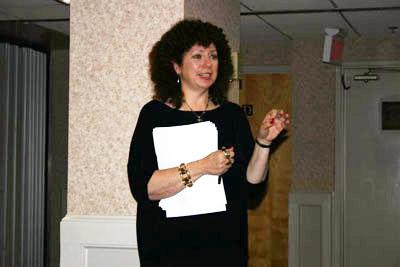 Speaker Elyse Zorn Karlin