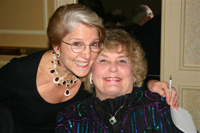Brenda Forman and Carolyn Chappell seem to be having a very good time.