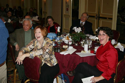 Alan Chen, Michele Zabel, Theresa McGowan, and Chuck Pasco.............all enjoying the auctioneers antics!