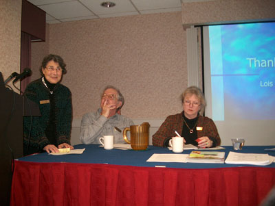 Lois Berger (Pearls), Hap Williams, Denise Nelson