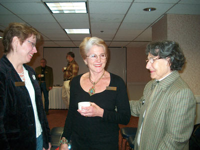 Melanie Marts, Brenda Foreman and Lois Berger