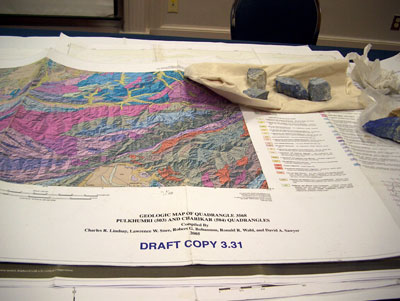 Geological map of northern Afganistan