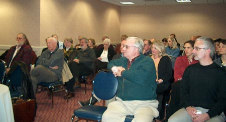 Members turned out to hear Bill's talk and to ask him questions about the industry's direction.