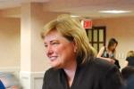 GIA president Donna Baker speaking to members