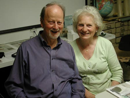 Dr. and Mrs. Alan Hodgkinson