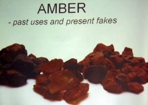 Amber Past Uses and Present Fakes