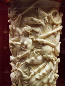 Ivory from Castle Eltz