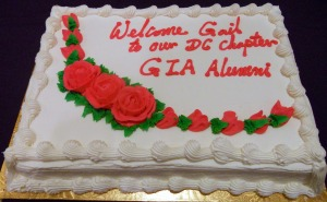Welcome Gail Cake
