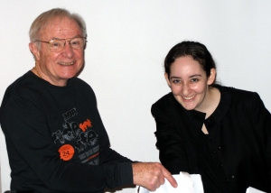 Bobby Mann (DCGIA President) & Alicia Oltuski