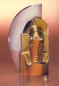 Milos-Templier face brooch