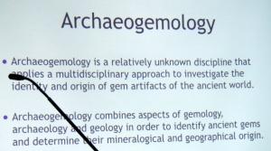 Arhaeogemology