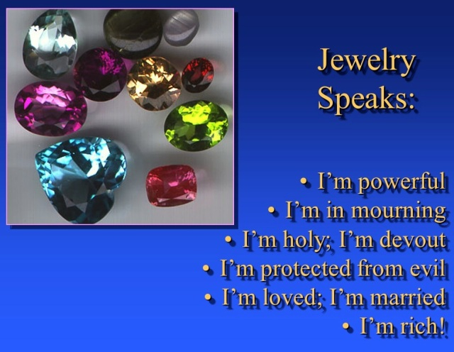 Jewelry Speaks