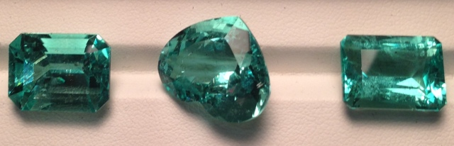 Extra Fine Columbian Emeralds