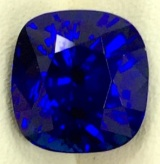 Extra Fine Natural Unheated Blue Sapphire