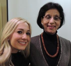 Danielle Miele & DCGIA President Kusam Mulhotra