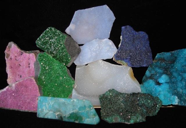 Drusy Gem Materials