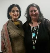 DCGIA President – Kusam Malhotra & Helen Serras-Herman