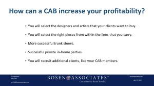 CAB Profits